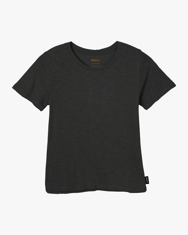 0 Solid Label Baby T-Shirt Black W433URLA RVCA