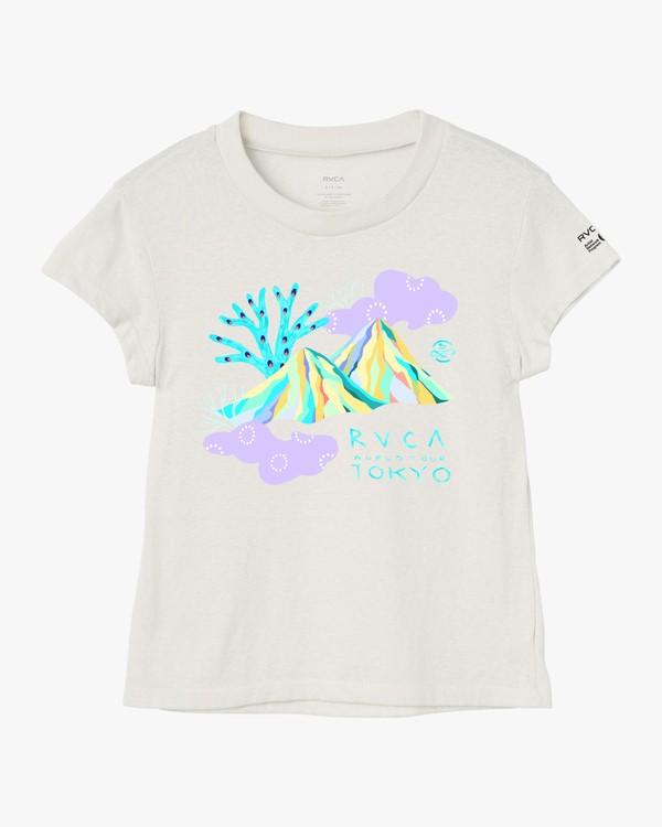 0 Frankiechi Baby T-Shirt White W443VRFR RVCA