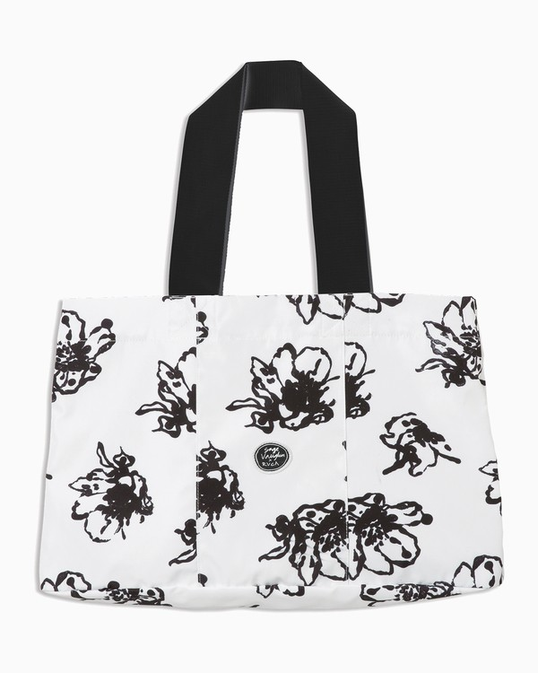 0 Sage Vaughn Savannah Tote Bag White WABGTRSA RVCA
