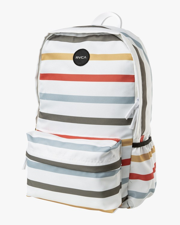 0 Multiplied Printed Backpack White WABKPRMU RVCA