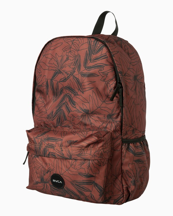 0 Multiplied Printed Backpack Brown WABKPRMU RVCA