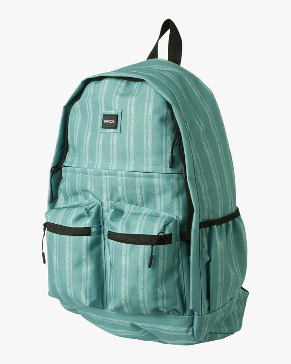 0 Take Me Out Printed Backpack Blue WABKPRTM RVCA