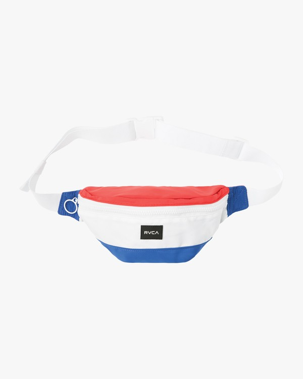 0 HOT STUFF FANNY PACK Blue WAHBORHS RVCA