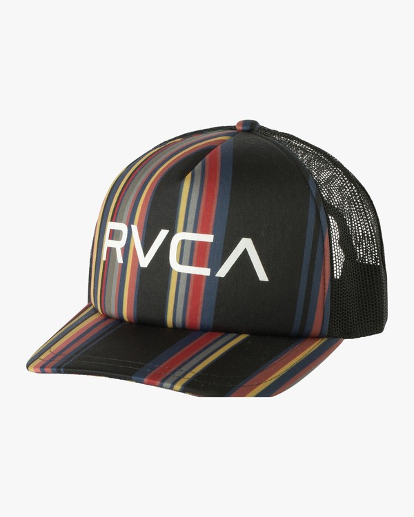 0 Pleaser Printed Trucker Hat Multicolor WAHWQRPL RVCA