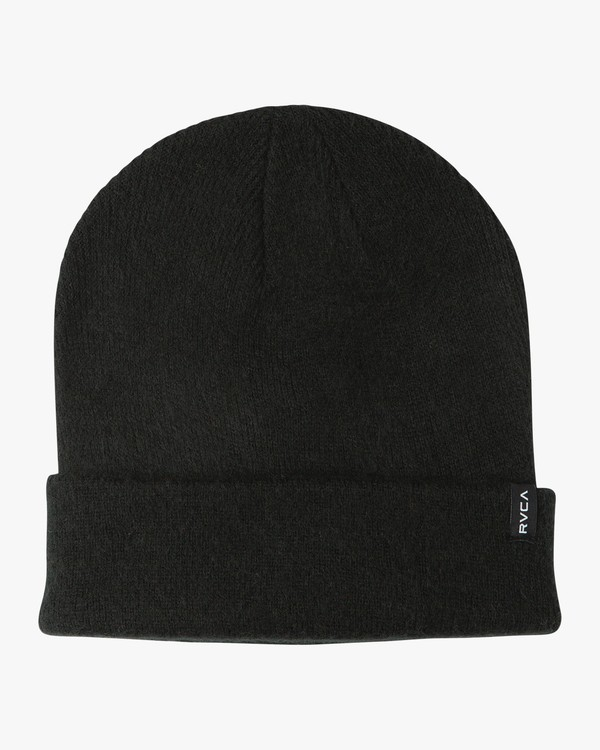 0 Anchor Knit Beanie Black WAHWSRAN RVCA