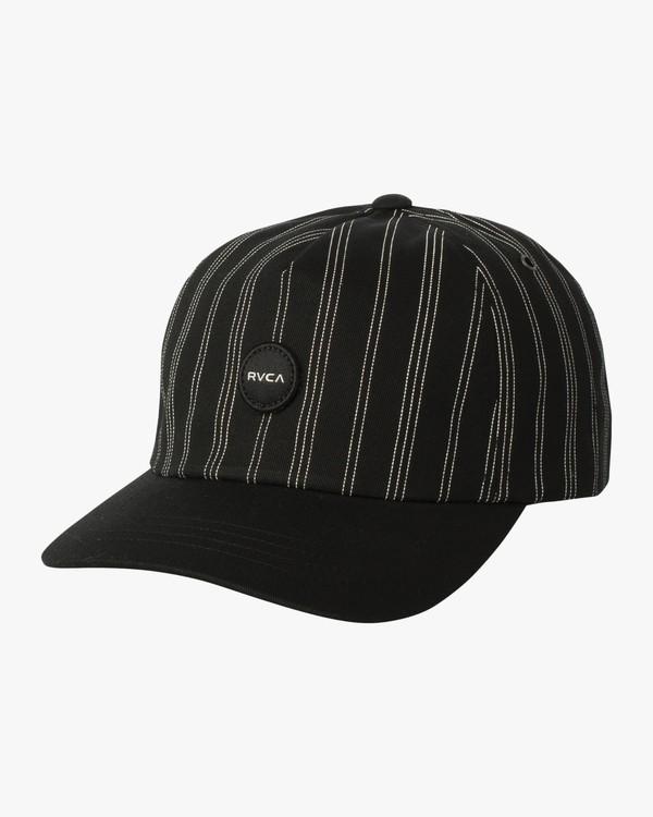 0 Hexed Dad Hat Black WAHWSRHE RVCA