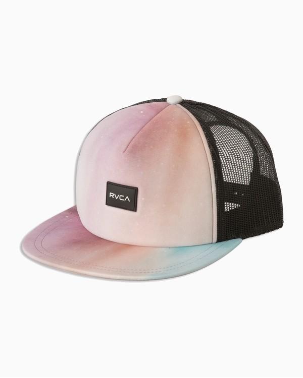 0 Sage Vaughn Talum Trucker Hat Grey WAHWTRTA RVCA