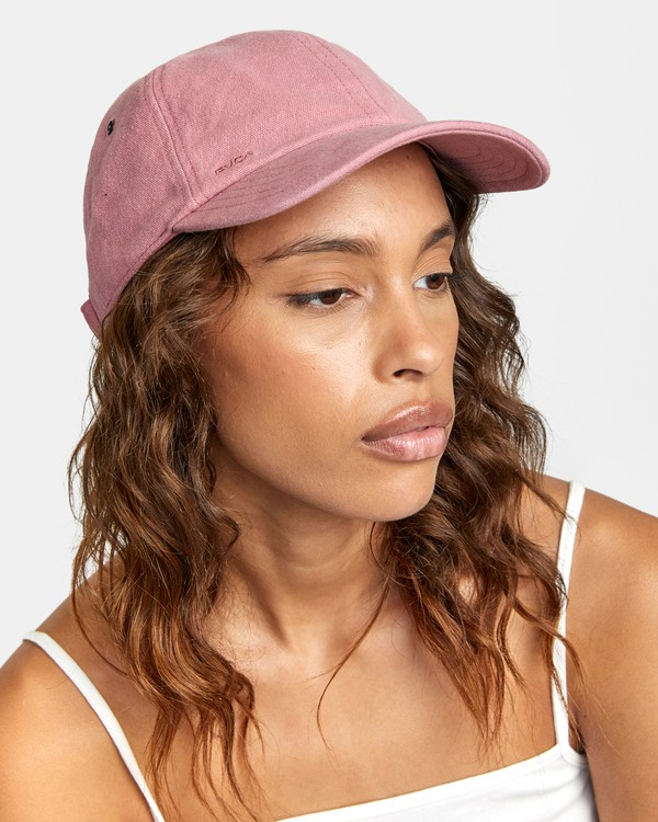 0 STAPLE DAD HAT Pink WAHWWRST RVCA