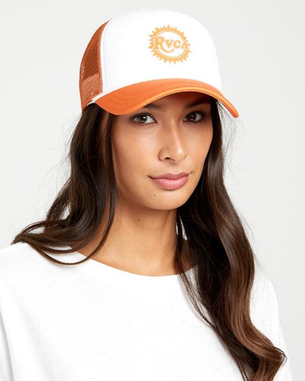 0 UNPHASED TRUCKER HAT Multicolor WAHWWRUN RVCA