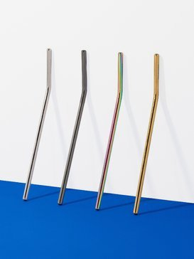 REUSABLE STRAW GOLD  2100STREG