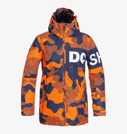 DCSHJ #DC Shoes Propaganda-Giacca da Snowboard da Uomo