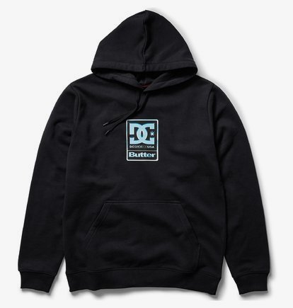 DC X Butter Goods Badge Sweat à capuche pour Homme