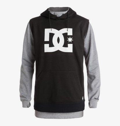 dc shoes hoodie black