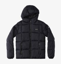 Square Up - Insulated Hooded Jacket for Boys  ADBJK03016