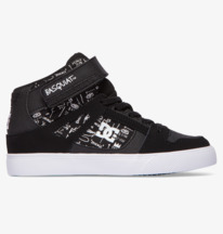 Basquiat Pure - High-Top Leather Shoes for Boys  ADBS300370