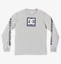 Square Star Long Sleeve Tee for Boys 8-16  ADBZT03128