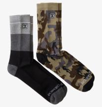 DC Seasonal 2 Pack - Crew Socks for Men  ADYAA03141