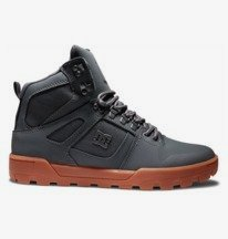 Pure Hi Weather Resistant Lace-Up Boots for Men  ADYB100009