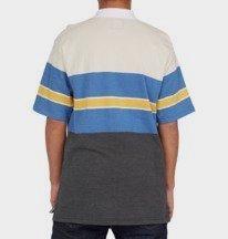 Rally Stripe - Short Sleeve Polo Shirt for Men  ADYKT03170