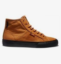 Manual - High-Top Water Resistant Suede Shoes for Men  ADYS300642