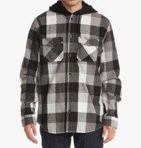 Ruckus Ed - Long Sleeve Hooded Shirt for Men  ADYWT03093