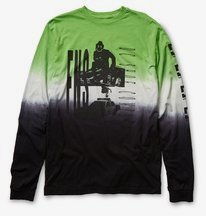 DC X FNS LS Dip Dye - T-shirt for Men  ADYZT04879
