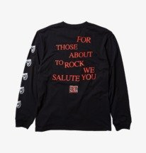 AC/DC About To Rock - Long Sleeve T-Shirt for Men  ADYZT04981