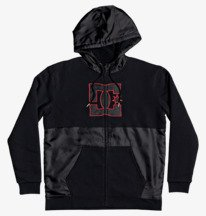 Sherpa Star - Zip-Up Sherpa-Lined Hoodie for Men