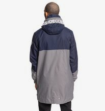 Nukove - Packable Waterproof Longline Fishtail Parka for Men  EDYJK03214