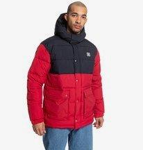 Straffen - Water-Resistant Hooded Puffer Jacket for Men  EDYJK03217