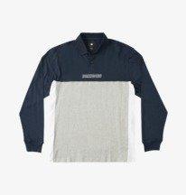 Swarm - Long Sleeve Polo Shirt for Men  EDYKT03517