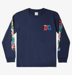 DC Jumble Up - Long Sleeve T-Shirt for Boys 8-16  ADBZT03121
