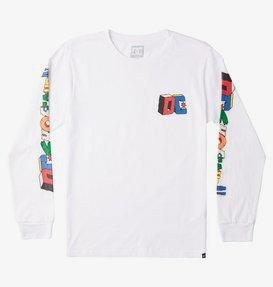 DC Jumble Up - Long Sleeve T-Shirt for Boys 8-16  ADBZT03121