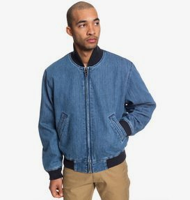 Tfunk - Oversized Denim Bomber Jacket for Men  ADYJK03057