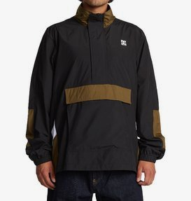 On The Block - Water-Resistant Half-Zip Anorak for Men  ADYJK03064