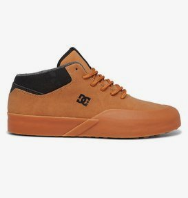 DC Infinite Mid WNT - Mid-Top Winterised Leather Shoes for Men  ADYS100602