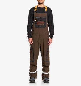 Revival - Shell Snow Bib Pants for Men  ADYTP03001