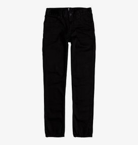 Worker Black Rinse - Slim Fit Jeans for Boys 8-16  EDBDP03041