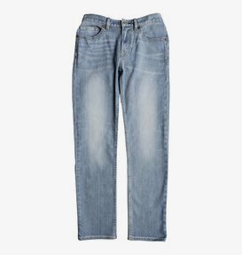 Worker Light Indigo Blue - Straight Fit Jeans for Boys 8-16  EDBDP03046