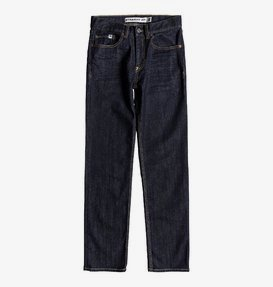Worker Indigo Rinse - Straight Fit Jeans for Boys 8-16  EDBDP03050