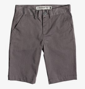 "Worker Heather 18.5"" - Chino Shorts for Boys 8-16  EDBWS03061"