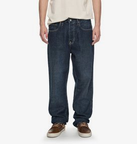 Worker Stone Wash - Relaxed Fit Jeans for Men  EDYDP03323