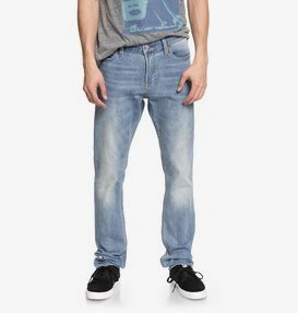 Worker Light Indigo Blue - Slim Fit Jeans for Men  EDYDP03363