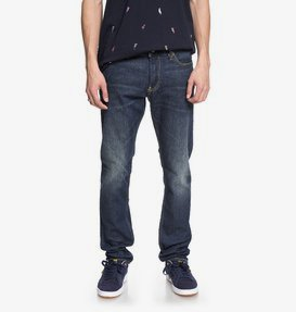 Worker Medium Stone - Slim Fit Jeans for Men  EDYDP03364