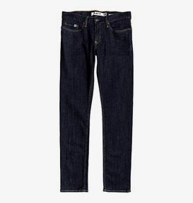 Worker Indigo Rinse - Slim Fit Jeans for Men  EDYDP03399