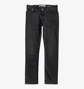 Worker Medium Grey - Straight Fit Jeans for Men  EDYDP03401