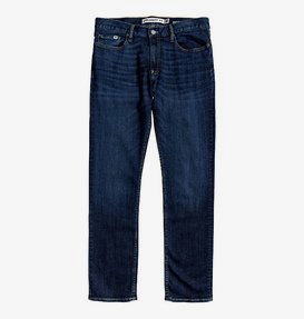 Worker Medium Stone - Straight Fit Jeans for Men  EDYDP03407