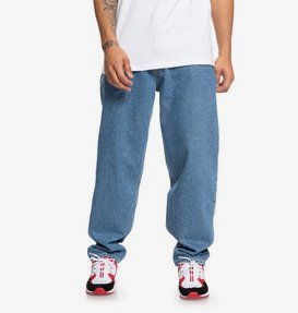 Worker - Relaxed Fit Tapered Jeans for Men  EDYDP03410
