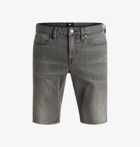 Washed Light Grey - Denim Shorts  EDYDS03021