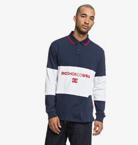 Emerson - Long Sleeve Polo Shirt for Men  EDYKT03419